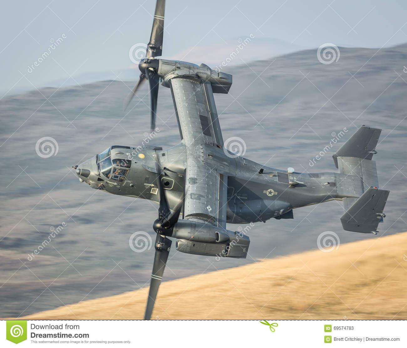 CV22 Osprey Helicopter V22 Stock Photo.