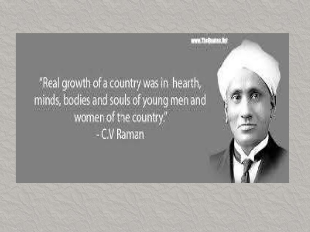 C.v. raman the great indian physicist.