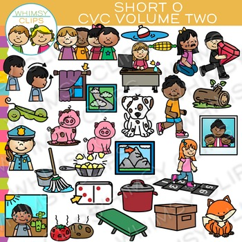 Cvc Clipart Worksheets & Teaching Resources.
