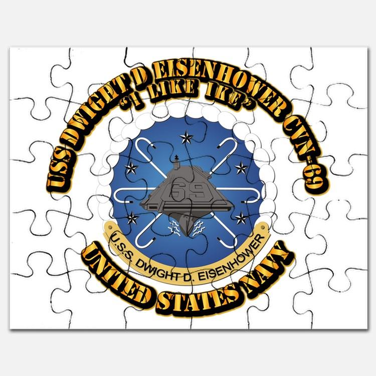 Uss Dwight D Eisenhower Cvn 69 Puzzles, Uss Dwight D Eisenhower.