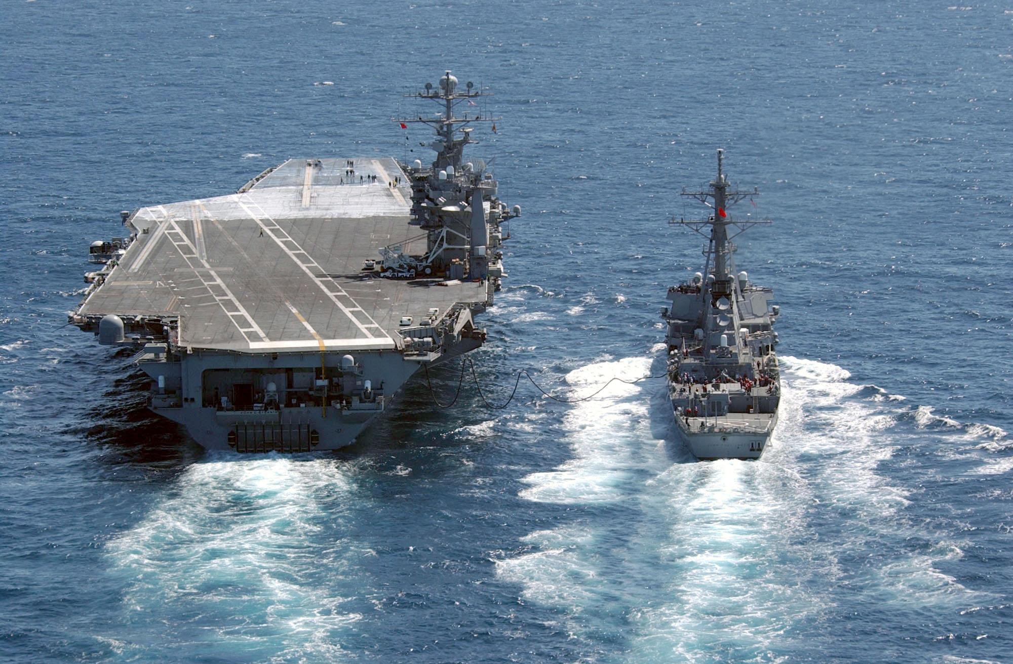 My favorite destroyer USS John Paul Jones (DDG.