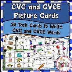 Image result for CVC CVCe Cvvc Words.