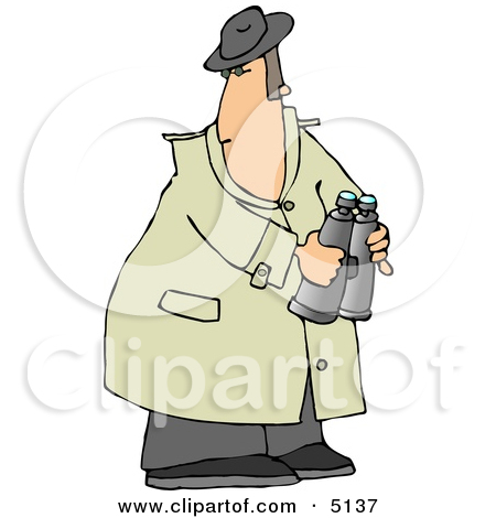 Spy Girl Clipart.
