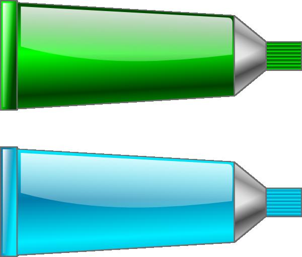 Color Tube Green Cyan Clip Art at Clker.com.