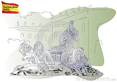 Cibeles Stock Illustrations.
