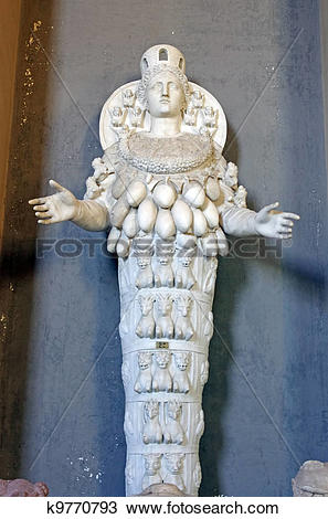 Stock Photo of Statue of Cybele.