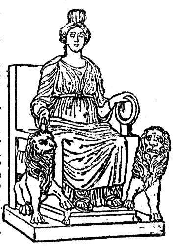 The Love Story of Cybele and Attis.
