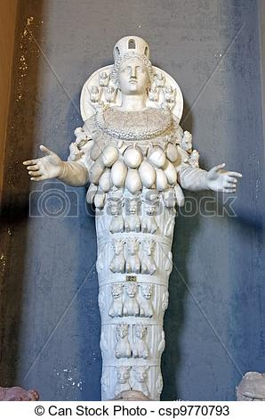 Stock Photos of Statue of Cybele.