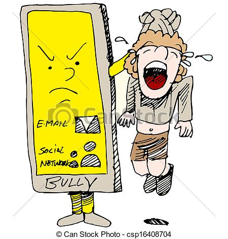 Cyber bullying Vector Clipart Royalty Free. 105 Cyber bullying.