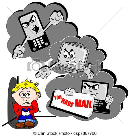 Cyber bullying Illustrations and Clipart. 295 Cyber bullying.