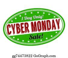 Cyber Monday Clip Art.