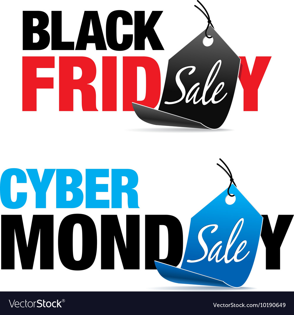 Black Friday and Cyber Monday Sale.