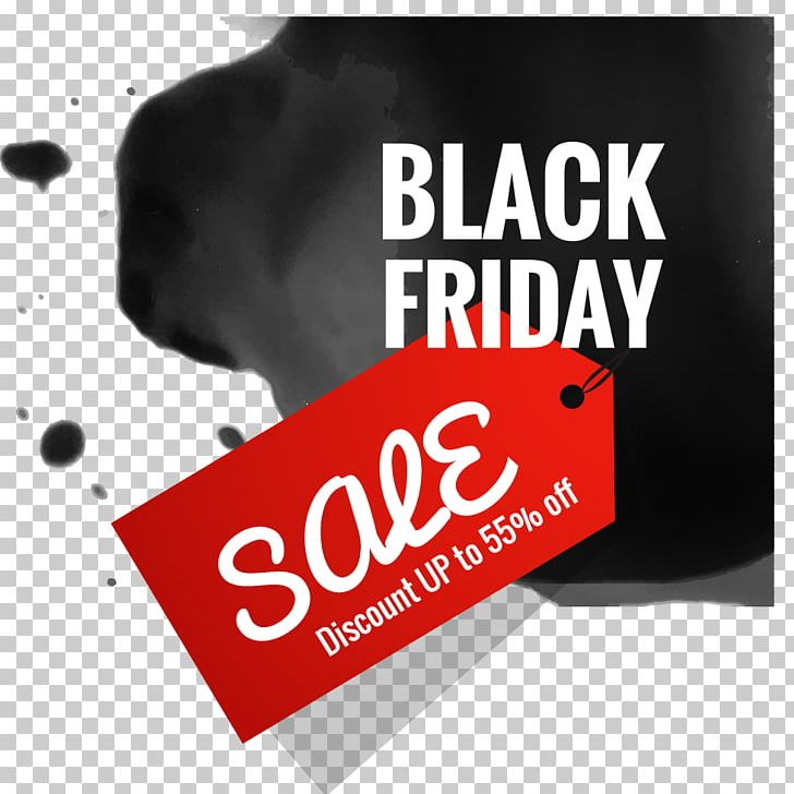 Black Friday Cyber Monday Sales Stock Photography PNG.