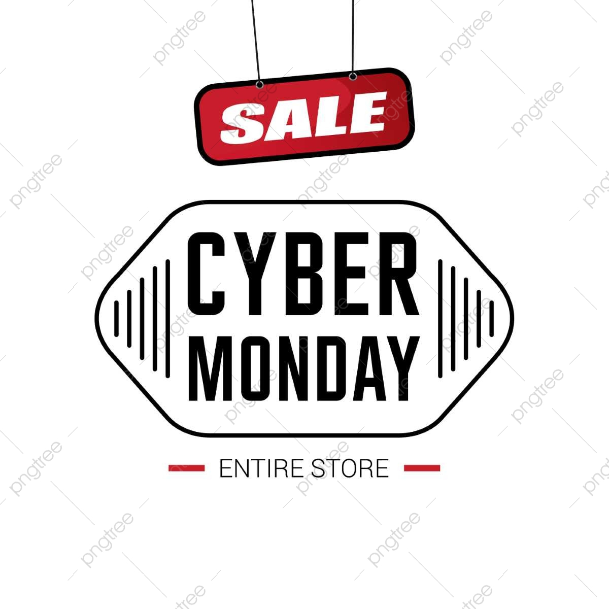 Cyber Monday Sale Card Vector, Cyber, Monday, Sale PNG and Vector.