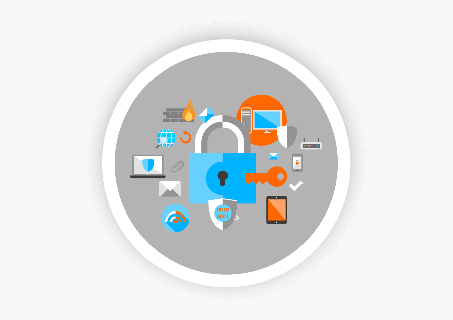 Cyber Security Icon Transparent Clipart , Png Download.