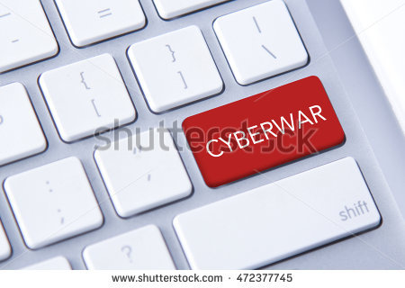 Cyberwar Stock Photos, Royalty.