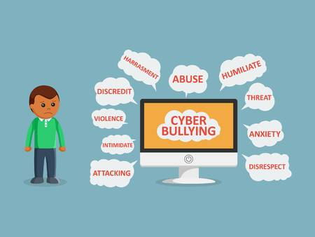 578 Cyber Bully Stock Illustrations, Cliparts And Royalty Free Cyber.