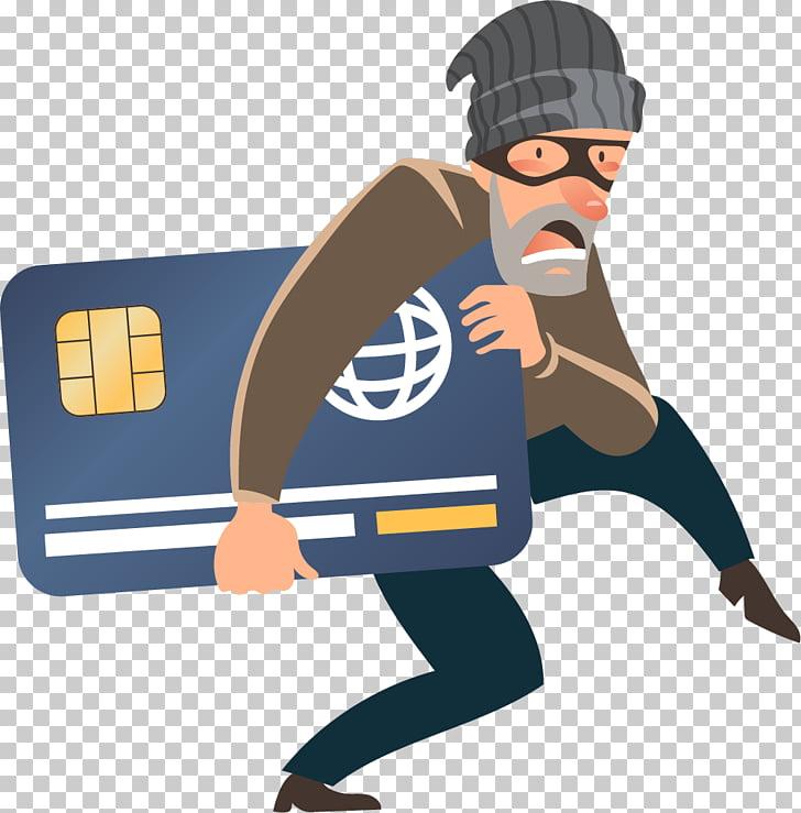 Robbery Cybercrime Icon, Credit card theft, burglar.