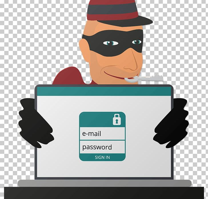 Theft Cybercrime Virtual Private Network Security Hacker PNG.