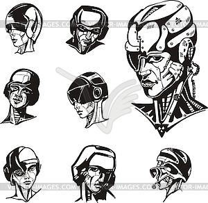 of cyborg women.
