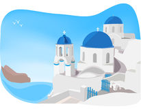 Cyclades Stock Illustrations.
