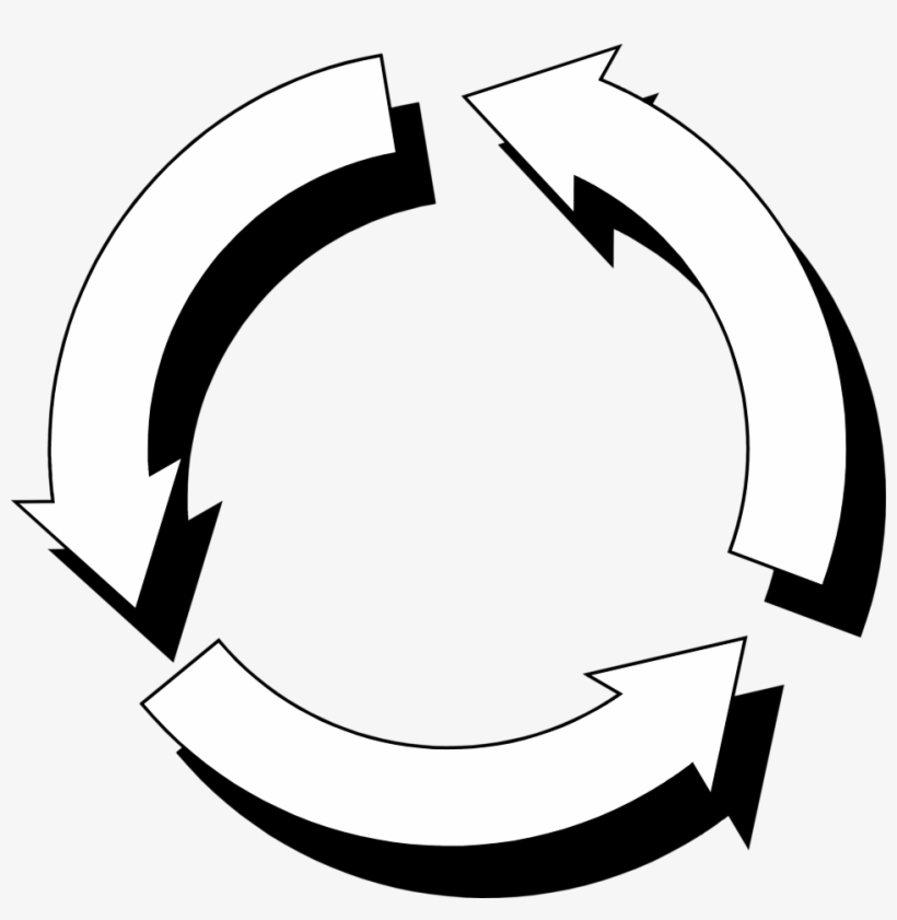 Curved Clipart Arrow Circle.