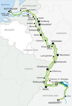 Map of Europe's Bike Routes: 'Bonjour' cycle tourism!.