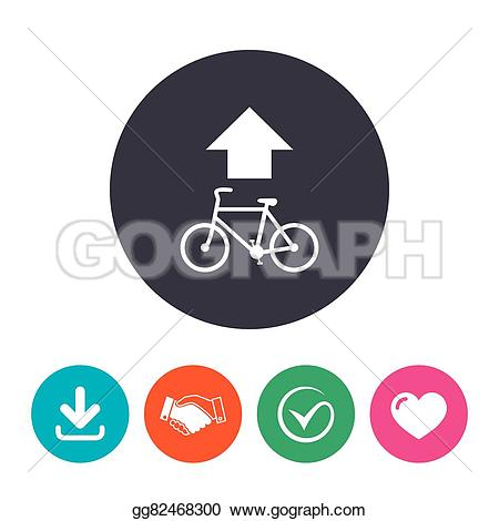 Cycle path signs clipart #18