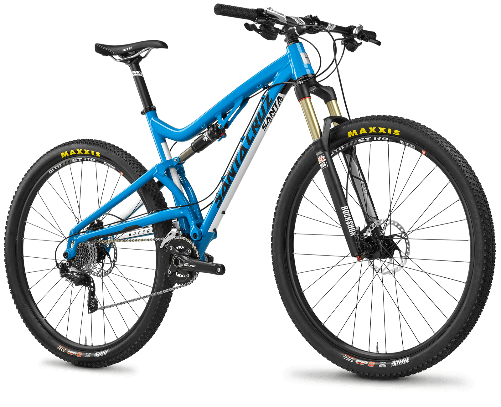 Santa Cruz Superlight, Blue bike, cycle Png #45202.
