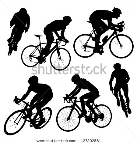 Cyclist Stock Images, Royalty.