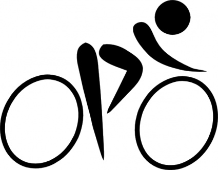 Cycling clipart #20