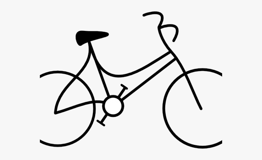 Cycling Clipart Bicycle Drawing.