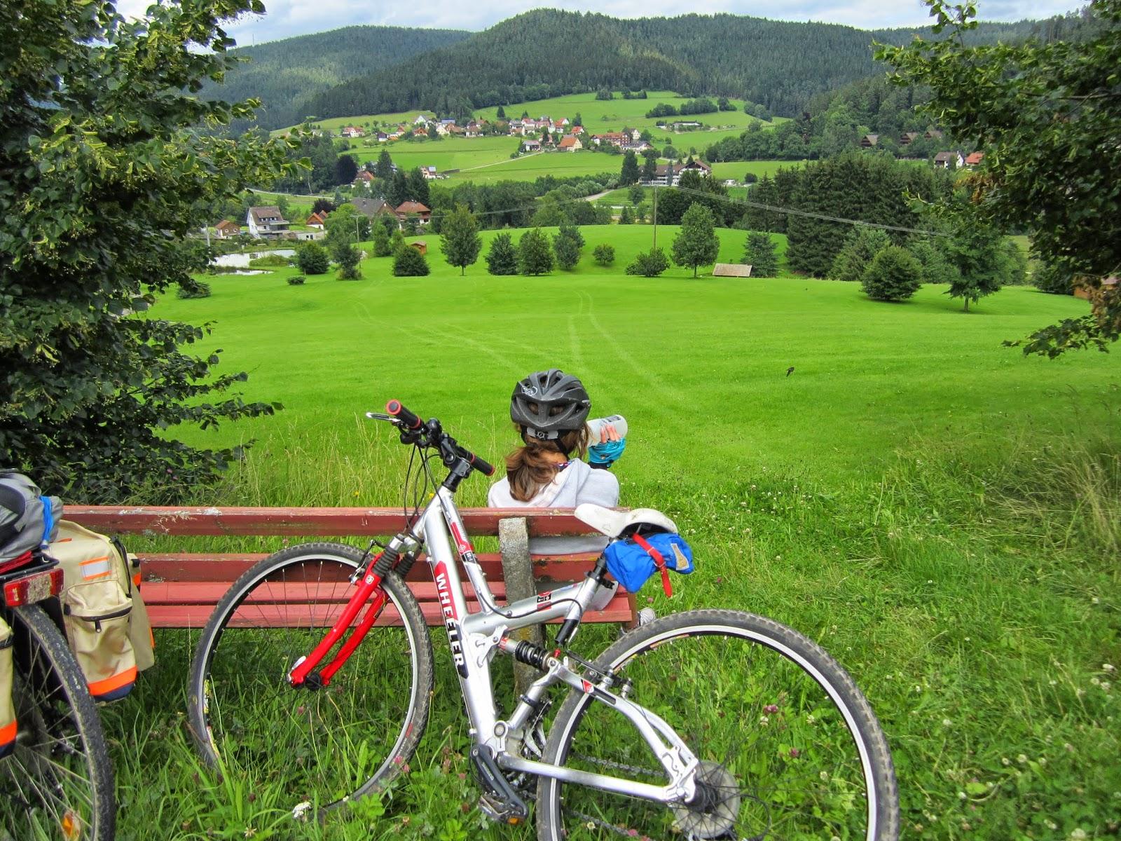 Roland Sturm: Idaho Bike Ride.