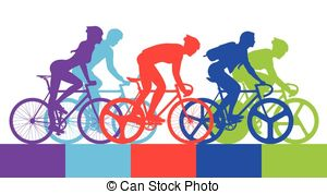Cycling races clipart - Clipground