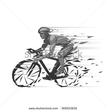 Cyclist Foto, immagini royalty.