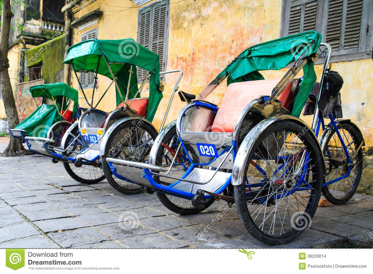 Cyclo In Vietnam Stock Images.