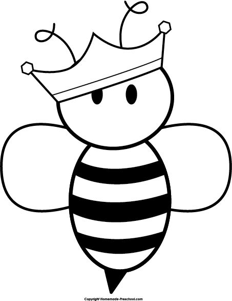 Printable Bee Clipart Clipground