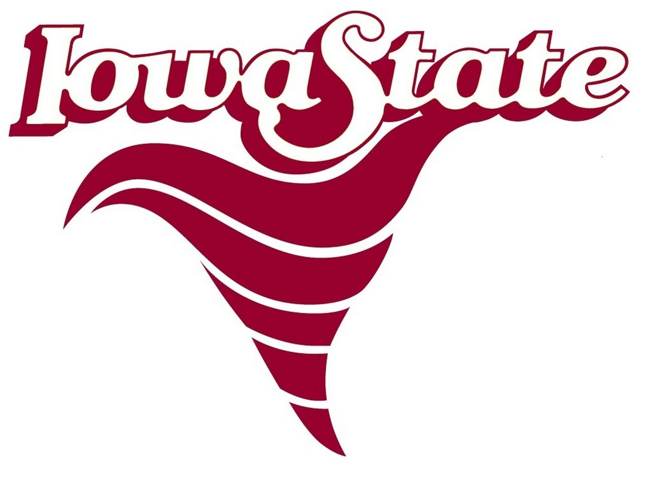 ncaa0331 Iowa State Cyclones Logo Die Cut Vinyl Graphic Decal Sticker NCAA.