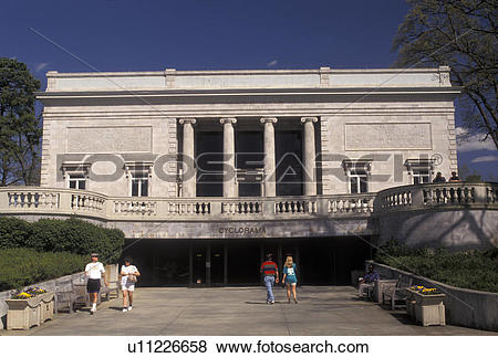 Pictures of Atlanta, Cyclorama, Georgia, museum, Cyclorama a Civil.