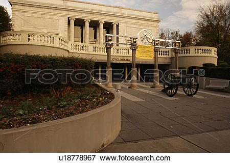 Picture of Atlanta, GA, Georgia, Atlanta Cyclorama, Civil War.