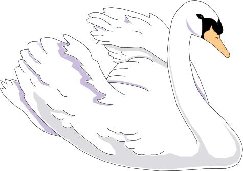 Swan 2 Clip Art Download.