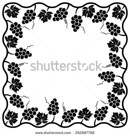 Forgetmenot Myosotis Graphic Flower Silhouettes Stock Vector.