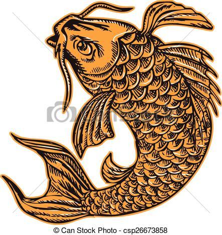 Cyprinidae Clipart Vector Graphics. 32 Cyprinidae EPS clip art.