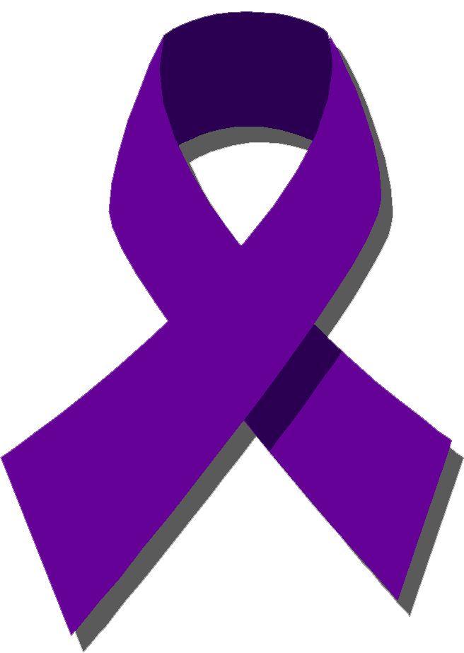 Domestic Violence Ribbon Clipart.