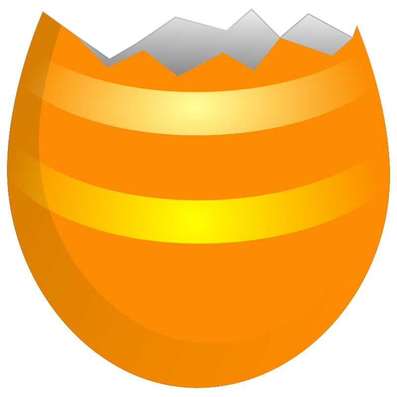 Cracked Egg Clipart.