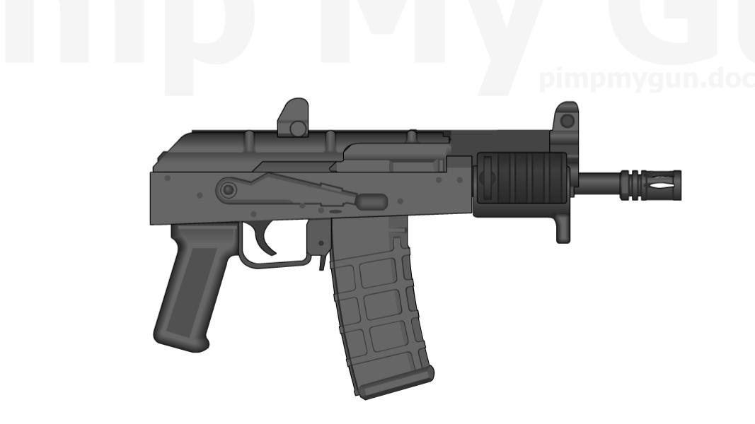 Draco Gun Png.