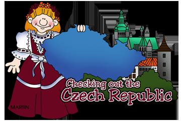 Free Czech Republic Clip Art by Phillip Martin.