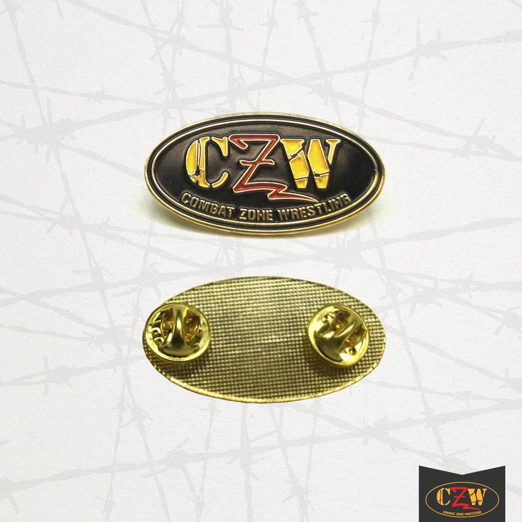 CZW Logo Enamel Pin.