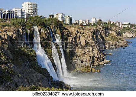 "Picture of ""Duden waterfall or Karpuzkaldiran waterfall, Antalya."