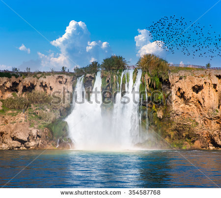 Duden Waterfall Stock Photos, Royalty.